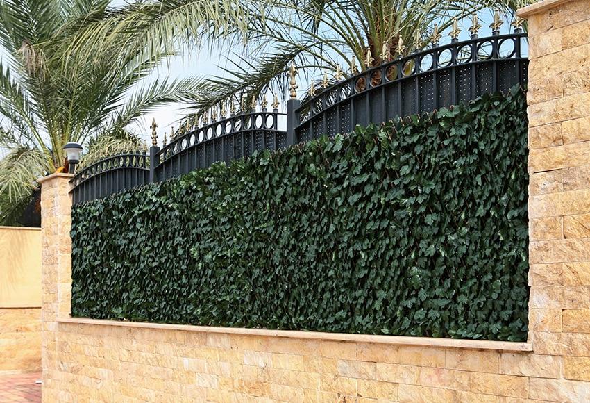Celos a de hojas decorativa 100 x 200 cm ref 14651280 Celosia para jardin