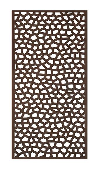 Celos a pvc mosaic xido 100 x 200 cm ref 16723742 - Celosias de madera leroy merlin ...