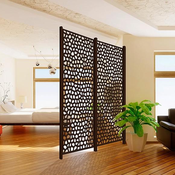 Celos a xido mosaic 100 x 200 cm ref 16723742 leroy merlin - Celosias de madera leroy merlin ...