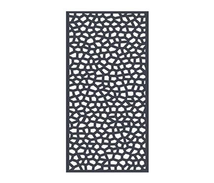 Celos a pvc mosaic antracita 100 x 200 cm ref 16723763 - Celosia leroy merlin ...