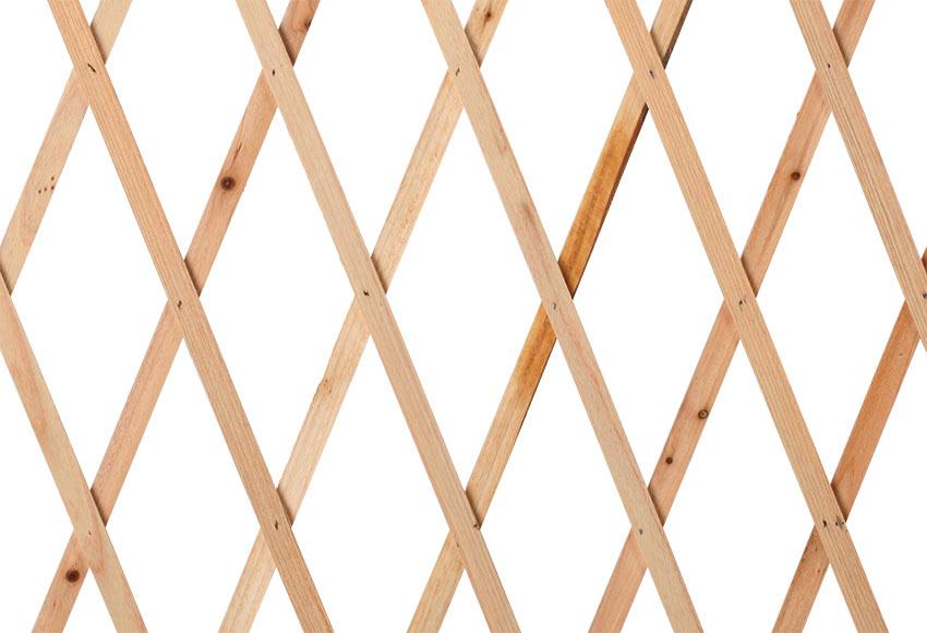 Celos a de madera extensible 50 x 150 cm ref 19487454 - Celosias de madera leroy merlin ...