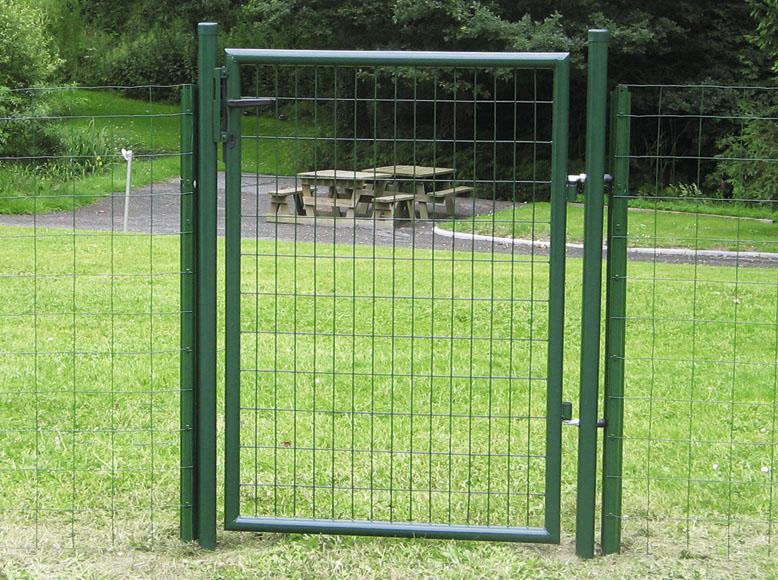 Puerta de acero puerta eco garden ref 13991572 leroy merlin - Puerta jardin leroy merlin ...