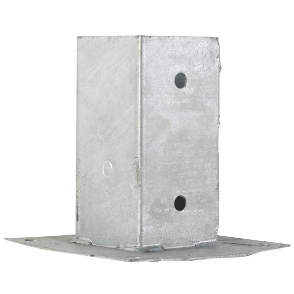 soporte de poste 7x7 cm ref 14467964 leroy merlin. Black Bedroom Furniture Sets. Home Design Ideas