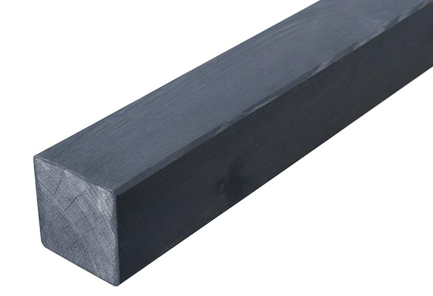 Poste de madera cuadrado 7x180 cm ref 16708041 leroy merlin - Postes de madera leroy merlin ...