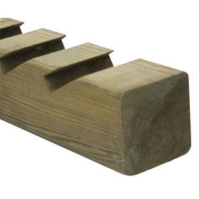 Poste de madera 9x200 cm