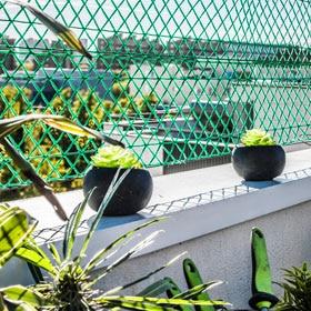 eced0475a36f6 Malla plástica extruida FLORANET 40 x 500 cm Verde