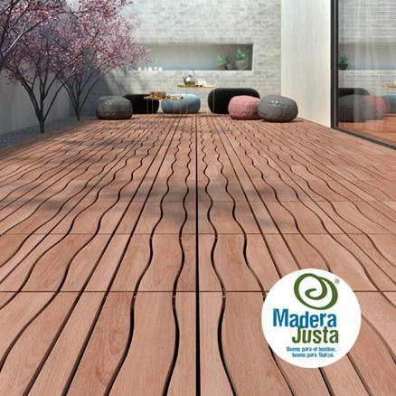Suelos de madera para exterior leroy merlin - Baldosa madera exterior ...