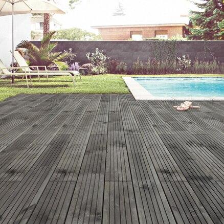 Suelo madera exterior barato baldosa caucho marino de parquet en murcia instalar tarima - Suelo jardin barato ...