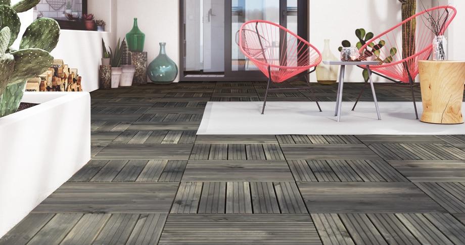 Suelos sinteticos para exterior elegant fiberon with - Suelos de madera exterior ...