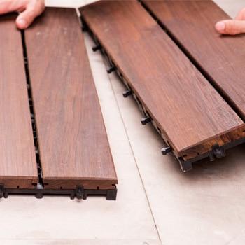 Suelos de madera para exterior leroy merlin for Laminas de madera leroy merlin