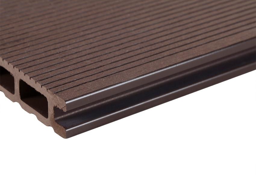 Lamas composite chocolate 14 5x240 cm ref 15443036 - Composite leroy merlin ...
