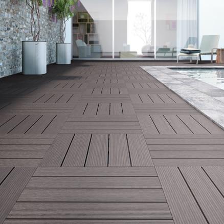 suelos de composite para exterior leroy merlin. Black Bedroom Furniture Sets. Home Design Ideas