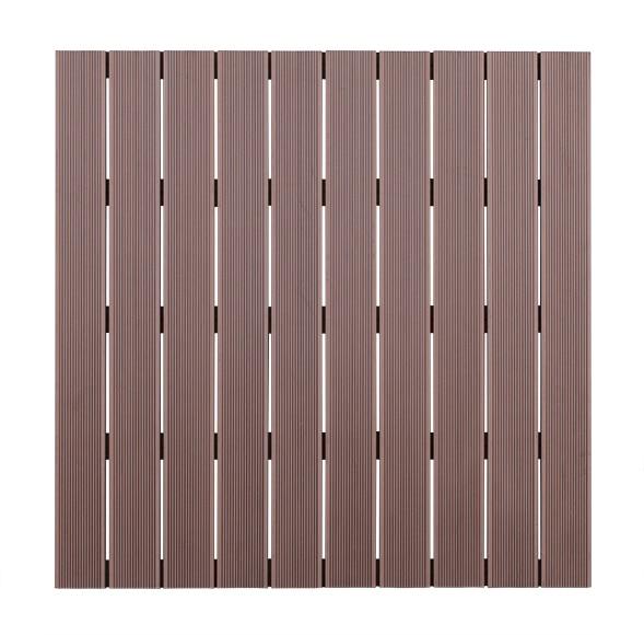 Baldosa composite chocolate 100x100 cm ref 16723581 - Baldosas interior leroy merlin ...