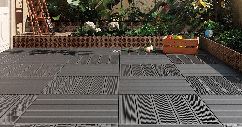 Suelos de composite para terrazas gallery of instalacion - Suelos de composite ...