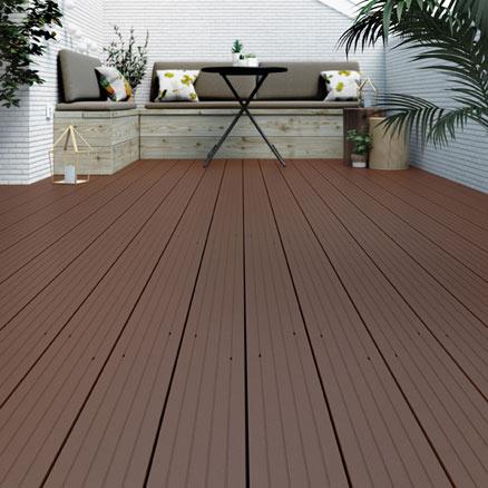 Suelos de composite para exterior leroy merlin for Suelos para jardin exterior