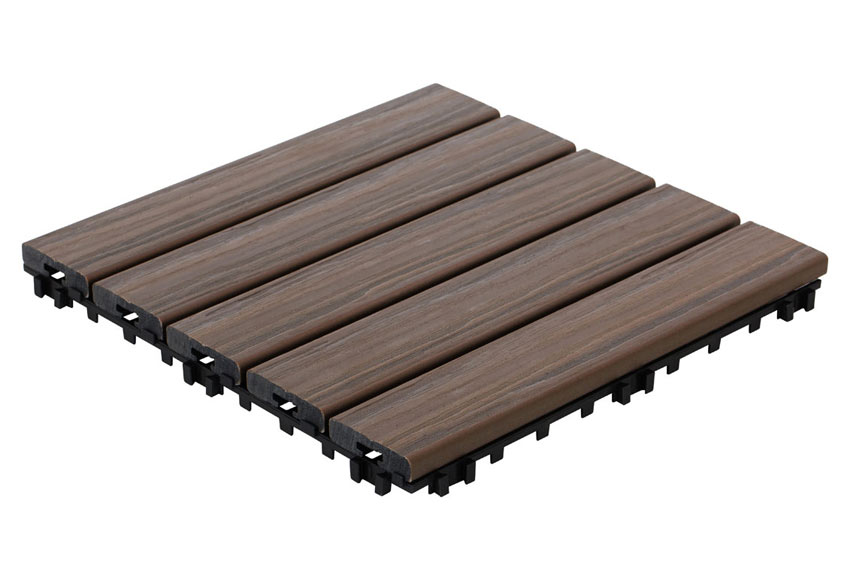 Baldosa composite base pl stica nogal 30 x 30 cm ref - Baldosa composite ...