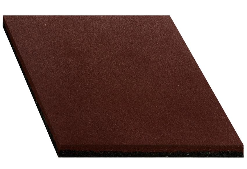 Loseta de caucho reciclado 50x50 cm ref 14580440 leroy - Losetas adhesivas leroy merlin ...