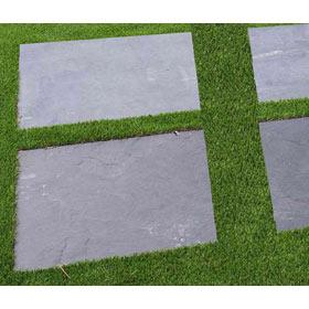 Piedra natural para exterior y terraza leroy merlin for Jardines en piedra natural