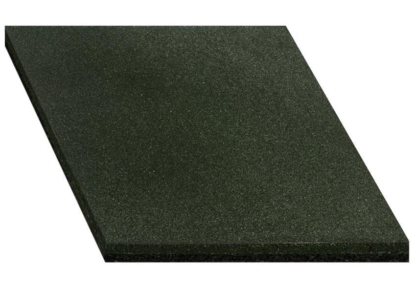 Loseta de caucho reciclado 50x50 cm ref 14580426 leroy - Suelos de caucho para exteriores ...