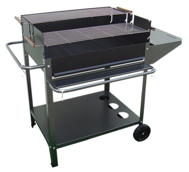 Barbacoa de carb n y le a madrid ref 17441522 leroy merlin for Barbacoa leroy merlin