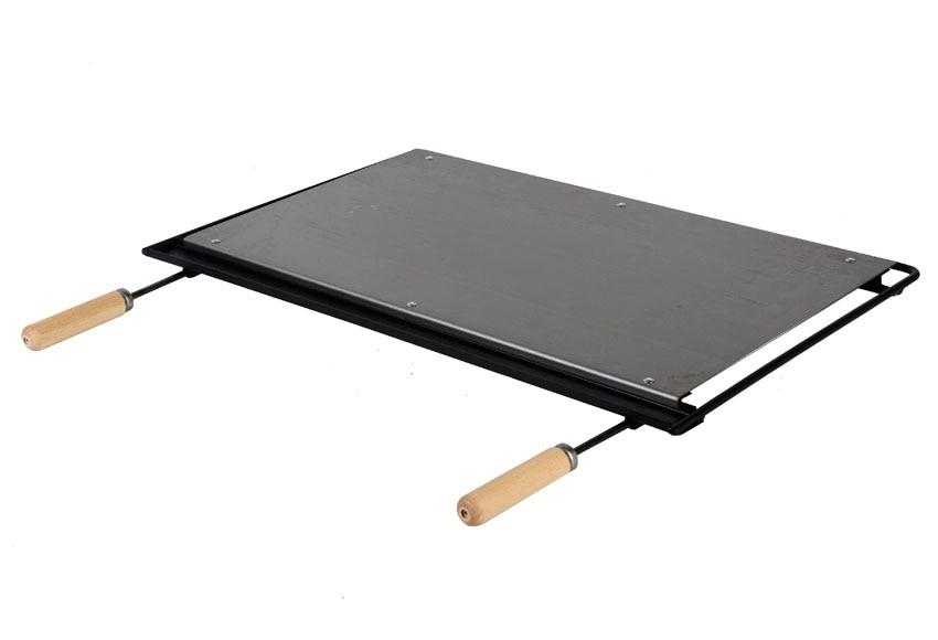 Plancha barbacoa hierro 66 x 41 cm ref 10714361 leroy - Planchas para barbacoas ...