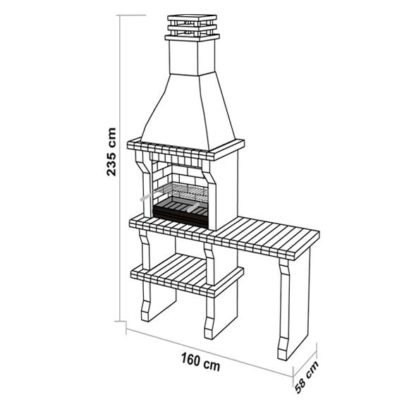 Medidas barbacoa de obra hydraulic actuators - Medidas de barbacoas ...