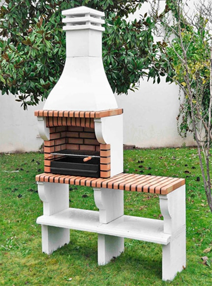 barbacoa de obra leroy merlin bbq beton kg massiv standgrill barbecue garten grill kamin with. Black Bedroom Furniture Sets. Home Design Ideas