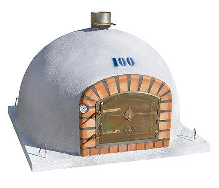 Pirometro para horno de leña