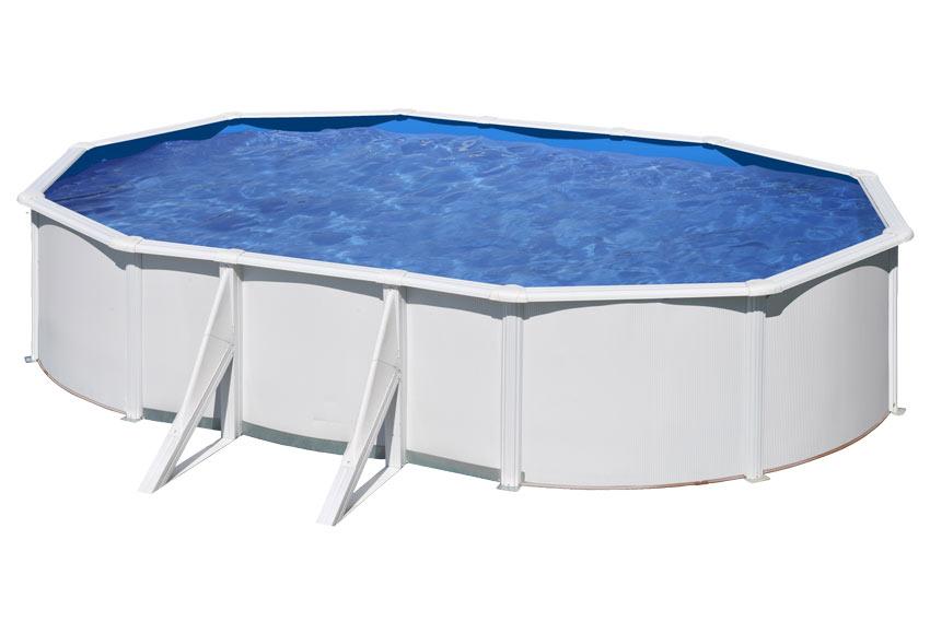 Acero ovalada blanca leroy merlin - Precios piscinas desmontables ...