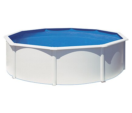 Piscina desmontable gre acero redonda blanca ref 16145794 - Liner piscina redonda ...