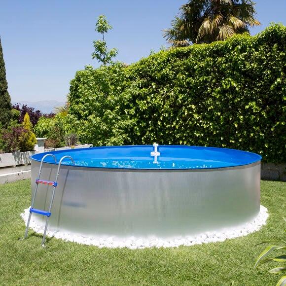 Acero redonda galvanizada leroy merlin for Cubre piscinas desmontables