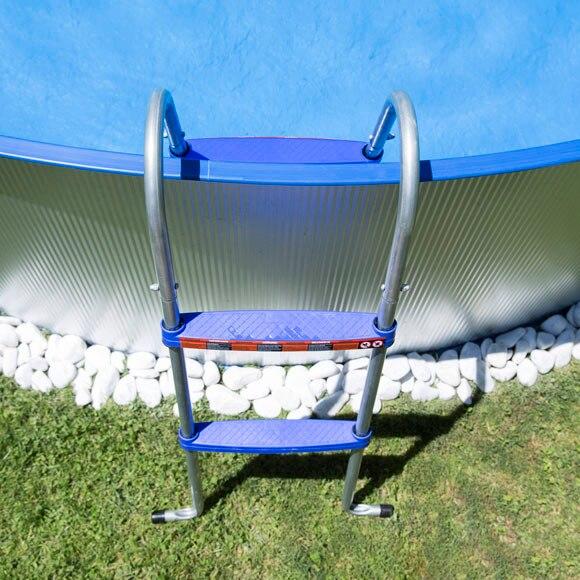 Acero redonda galvanizada leroy merlin for Piscinas de acero galvanizado