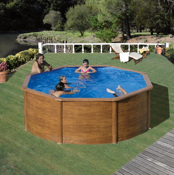Piscinas madera interesting with piscinas madera cerco for Piscines demontables