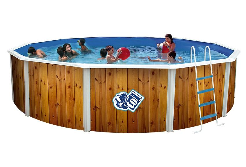 Piscina desmontable toi acero redonda veta ref 16795275 for Toi piscinas desmontables