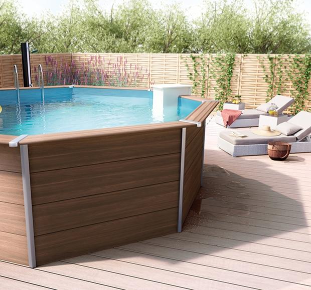 Piscina desmontable qp composite ref 16867382 leroy merlin Leroy piscinas desmontables