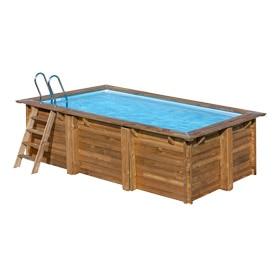 Piscinas desmontables leroy merlin for Piscina madera rectangular