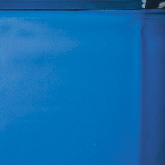 Piscina desmontable gre redonda blanca ref 15759191 for Calcular metros cubicos piscina redonda