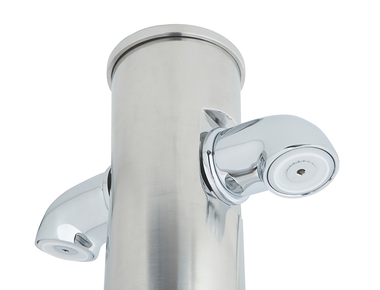 Ducha de piscina qp antivand lica inox auto lavapi s ref for Duchas piscina leroy merlin