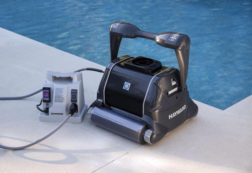 robot limpiafondos de piscina qp tiger shark ref 12758725 leroy merlin. Black Bedroom Furniture Sets. Home Design Ideas