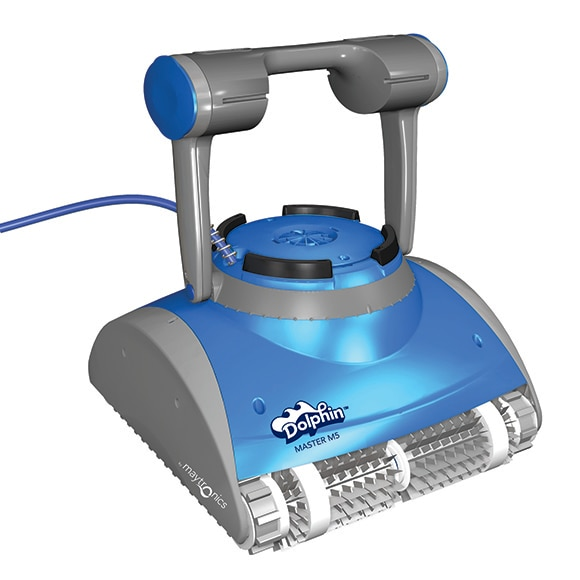 robot limpiafondos de piscina qp dolphin m4 ref 15709316 leroy merlin. Black Bedroom Furniture Sets. Home Design Ideas