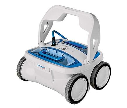 Robot limpiafondos de piscina gre trac 4x3 ref 16800574 for Limpiafondos piscina leroy merlin