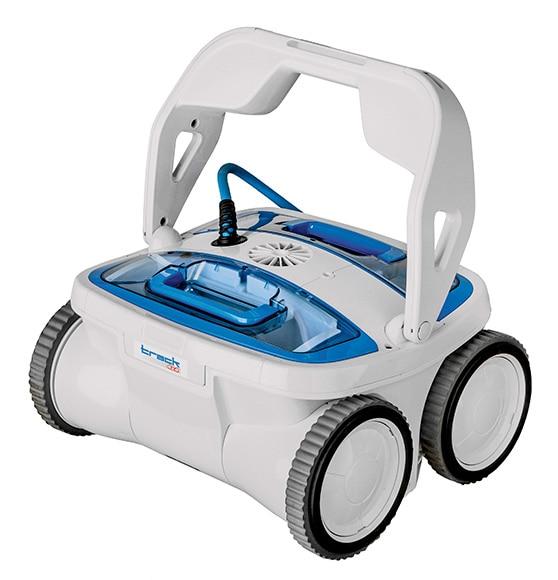 Robot limpiafondos de piscina gre trac 4x3 ref 16800574 for Robot limpiafondos para piscinas