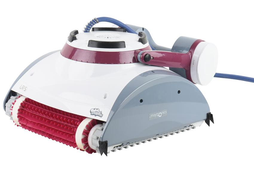 robot limpiafondos de piscina qp dolphin lr5 ref 19644093. Black Bedroom Furniture Sets. Home Design Ideas