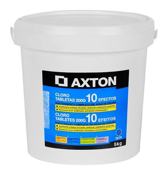Cloro 10 efectos axton pastillas 5 kg ref 14184464 - Piscinas bricodepot ...