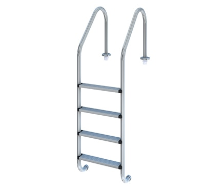 Escalera para piscina 4 pelda os est ndar 4 pelda os plus for Escaleras de piscina