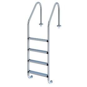 Escaleras barandillas y toboganes para piscina leroy merlin for Piscinas aki catalogo