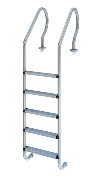 Escalera para piscina 5 pelda os mixta plus ref 17452162 for Escaleras de piscinas baratas