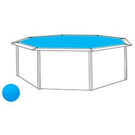 Piscina desmontable qp composite 530x390x120 cm ref for Cubierta piscina desmontable
