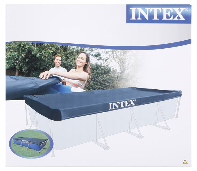 Cubierta de piscina intex cubierta invierno tubular ref for Cubierta para alberca intex