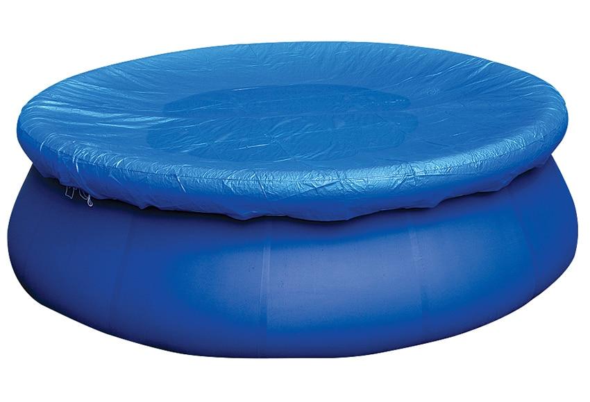 Cubierta de piscina cubierta redonda invierno ref for Piscinas de invierno